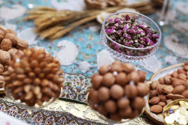 Persian wedding food