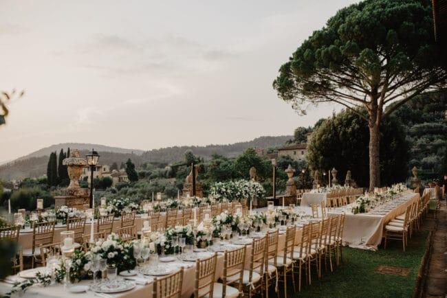 Persian wedding reception