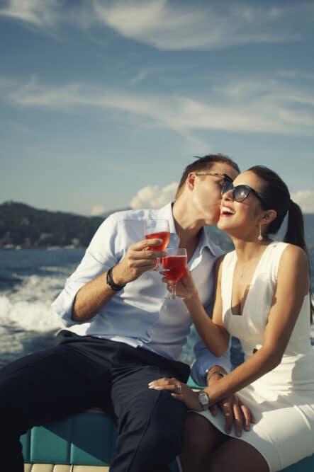 Welcome wedding party in Portofino