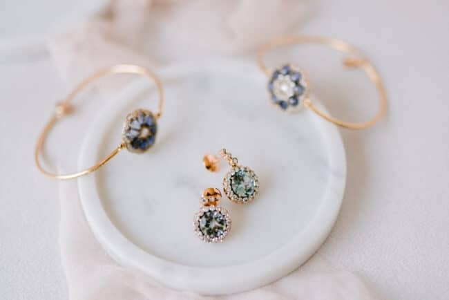 Bridal jewellery for a romantic wedding in Italy