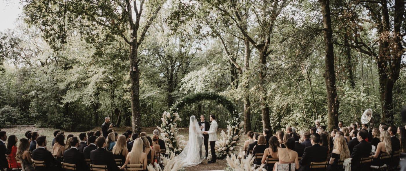 Romantic wedding in Tuscany video