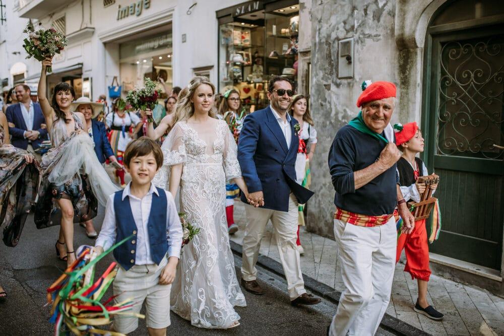 Scialapopolo band in Capri