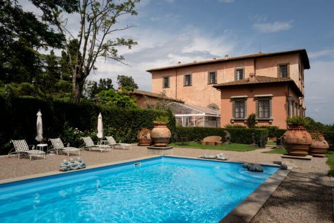 swimmingpool villa italy wedding