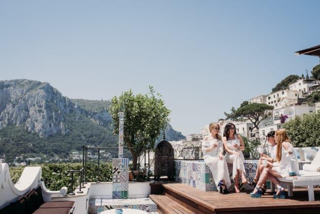 Bridal suite Tiberio Palace Capri