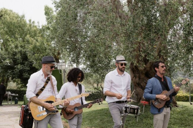 Band for wedding brunch in Italy