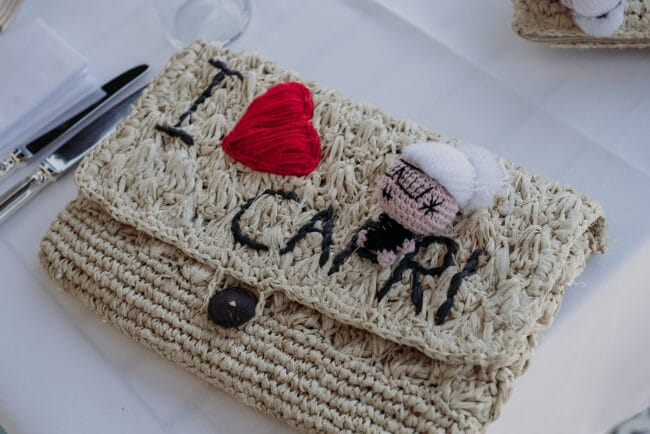 Typical Capri wedding favors