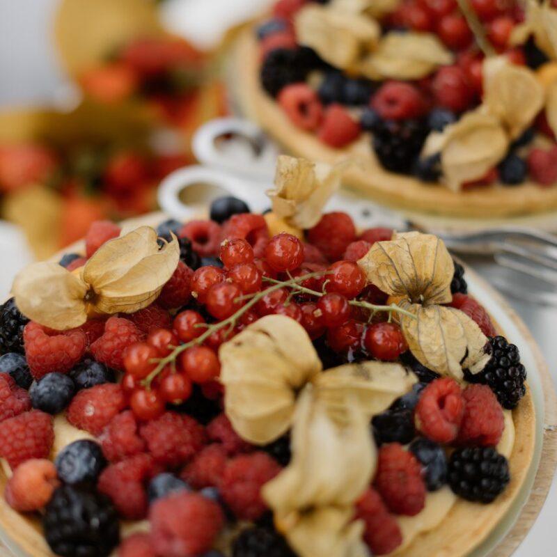 Wedding dessert buffet for a brunch in Italy