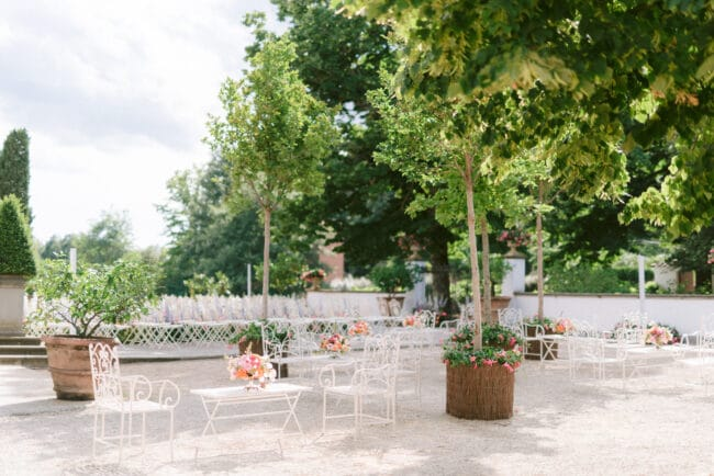 Wedding garden Tuscany wedding venue
