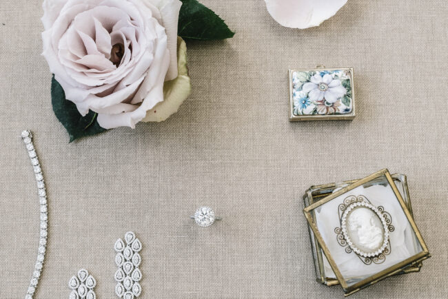 Bridal jewellery for wedding in Florence