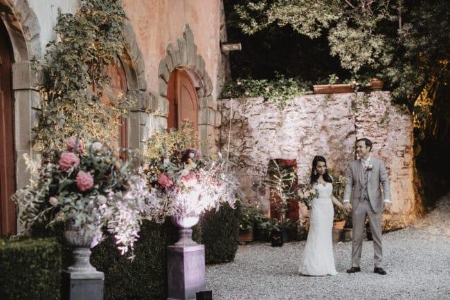 wedding lucca villa decors