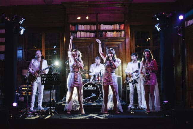 Show party band for weddings in Florence