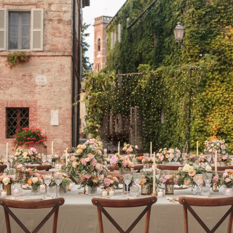 Wedding toptable for Jewish wedding