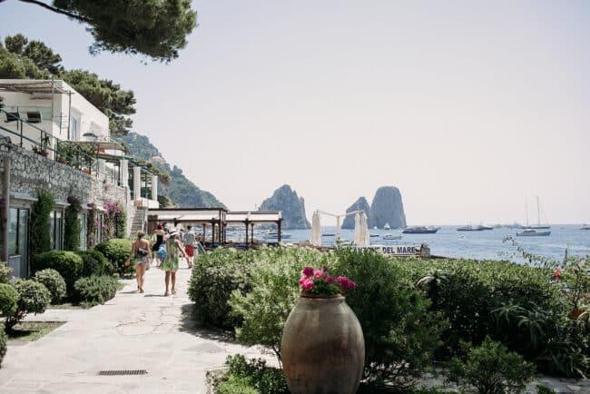 Wedding in venue in Capri