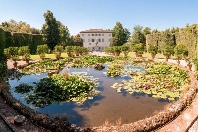 wedding villa luca garden