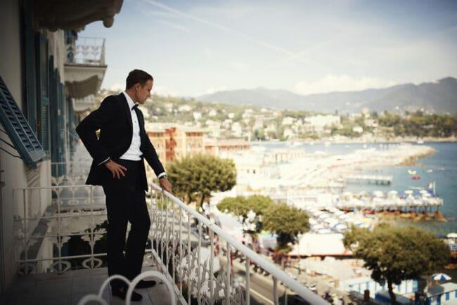 Wedding with view in Portofino
