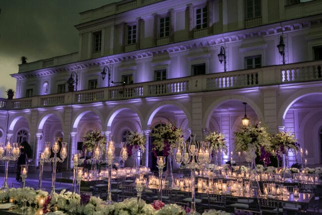 Luxury villa for weddings in Rome