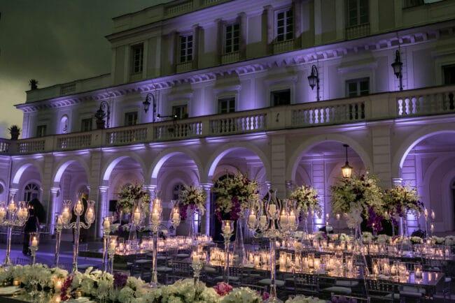 Luxury villa for weddings in Rome