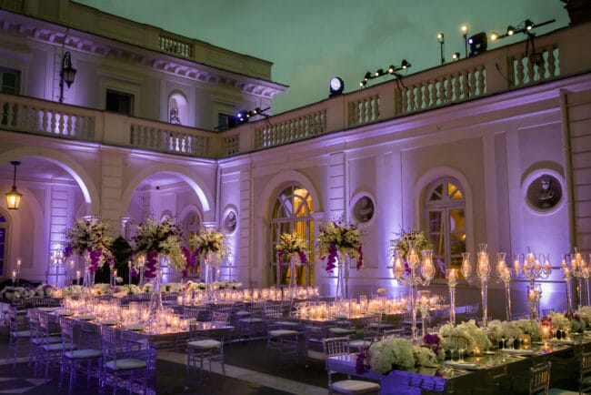Luxury wedding villa in Rome