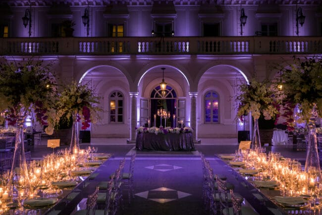Exclusive villa for weddings in Rome