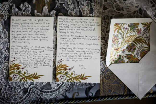 Elegant stationery for weddings in Rome