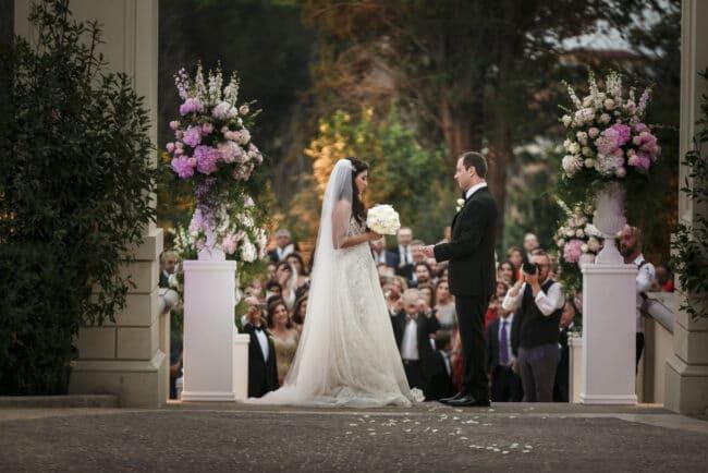 Lebanese wedding ceremony in Rome
