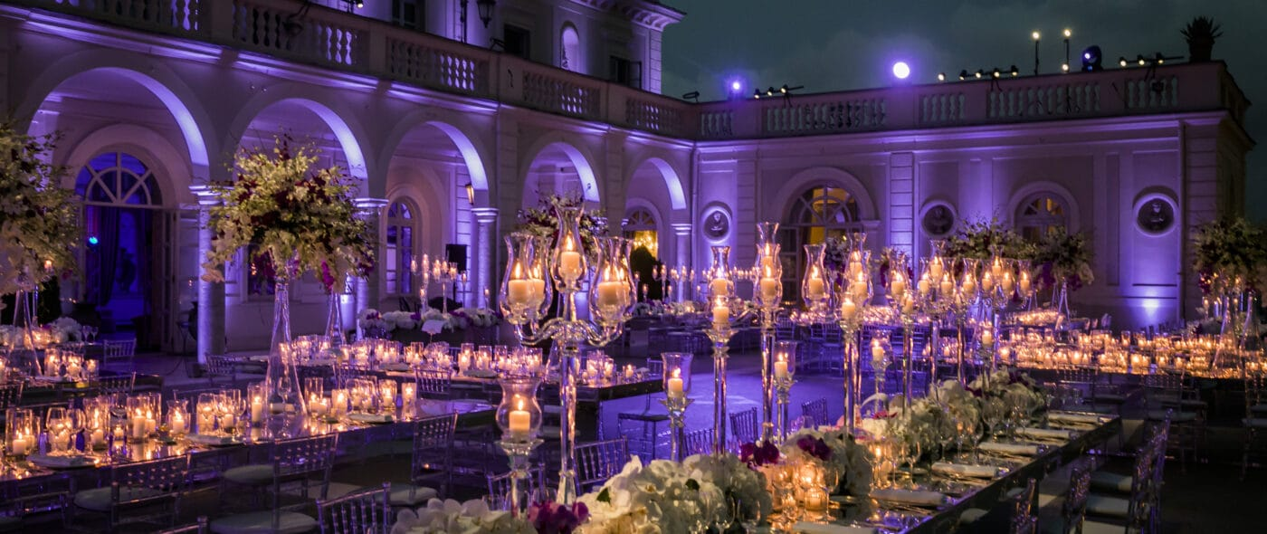 Luxury wedding venue in Rome