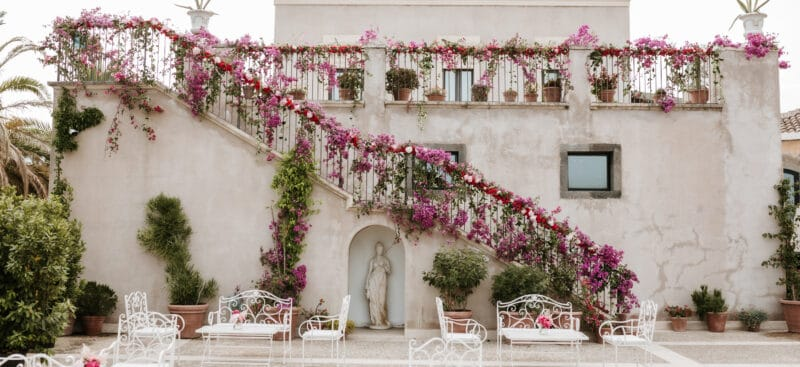 Villa in Sicily for luxury weddings