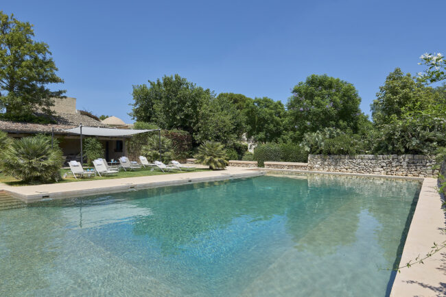 Swimmingpool for welcome wedding party in Sicily
