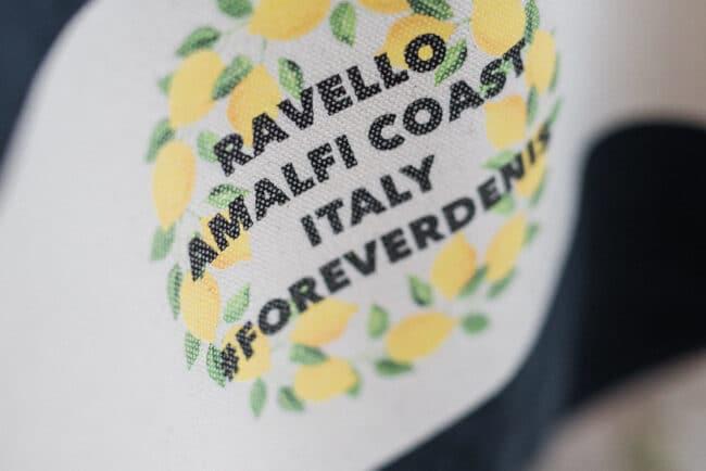 Amalfi wedding favor detail
