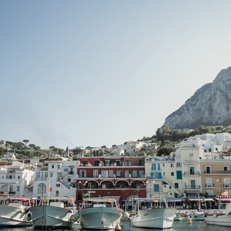 Best mediterranean landscape Capri