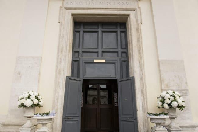 Church view Rome