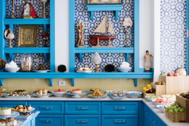 Food indoor furniture Capri island Riccio
