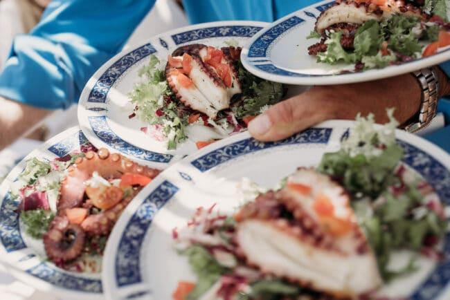 Luxury food wedding locations da Luigi