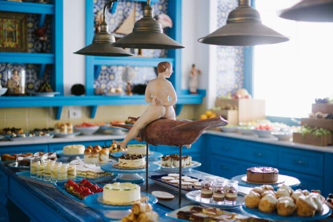 Mediterranean food wedding Riccio Anacapri