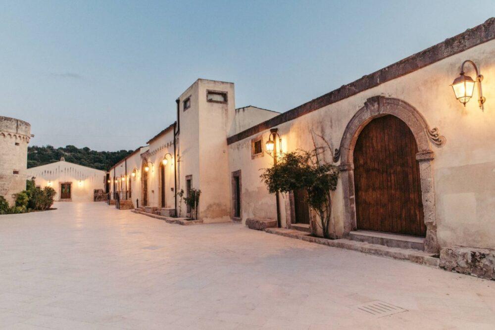 Rustic chic wedding venue in Sicily