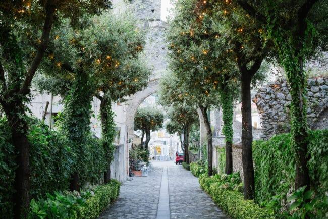 Resort garden in Ravello
