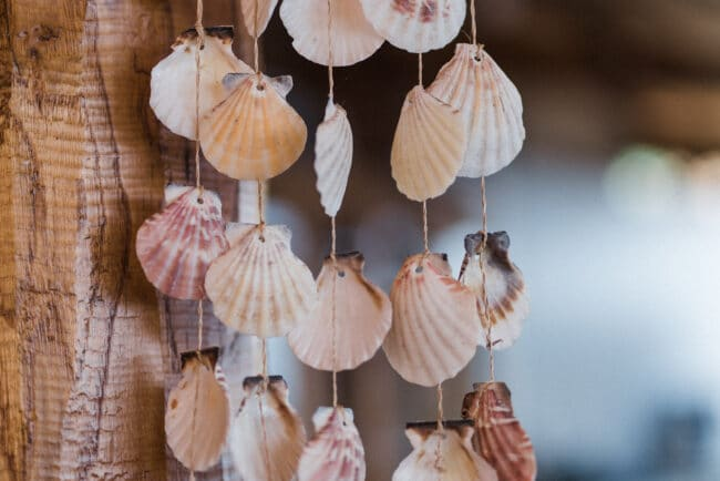 Sea wedding details