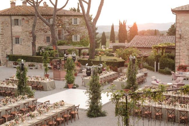 Tuscany venue agriturismo