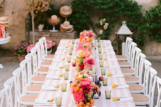 Intimate destination wedding tuscany