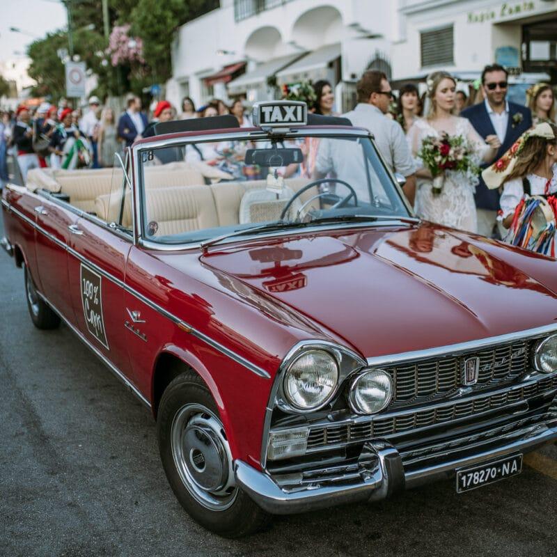 Wedding car Capri
