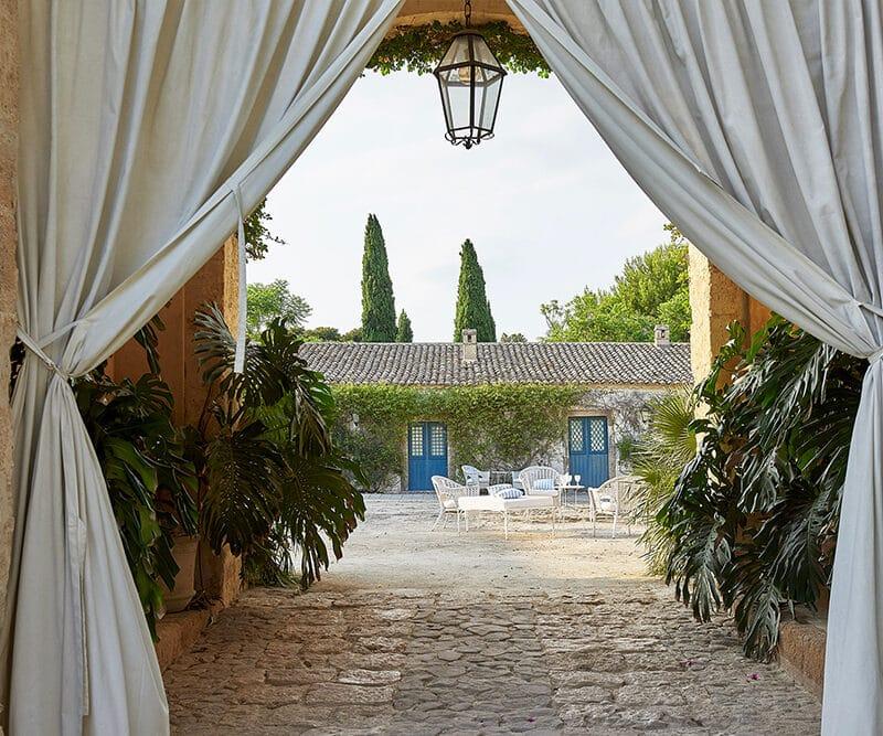 Wedding court in Sicily