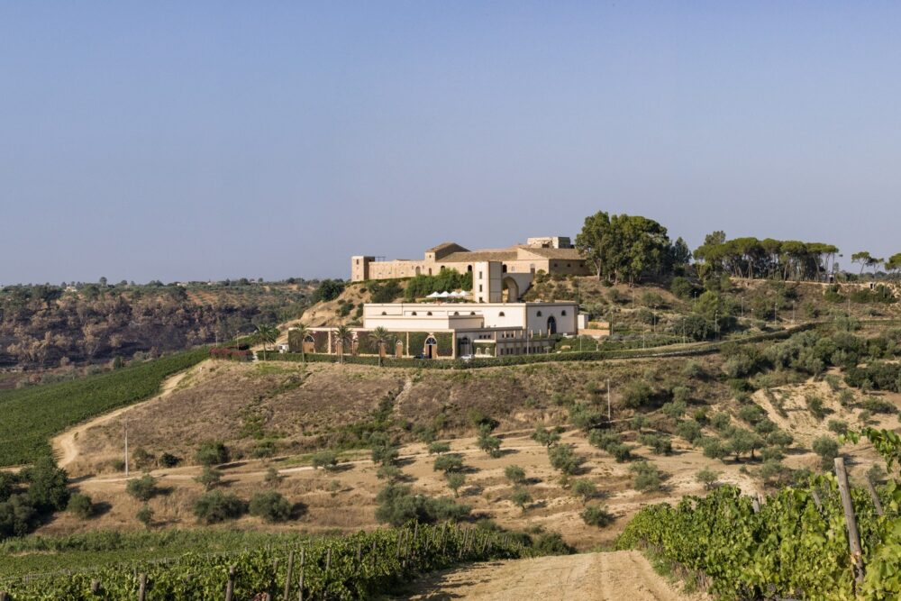 Wine resort for weddings in Sicily