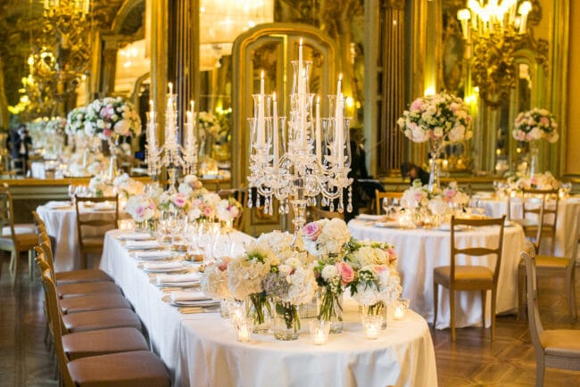 Table set of a luxury Wedding Florence