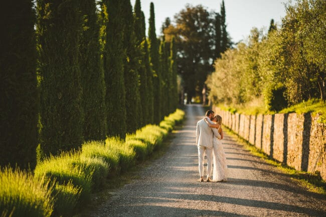 Romantic villa in Chianti - intimate wedding