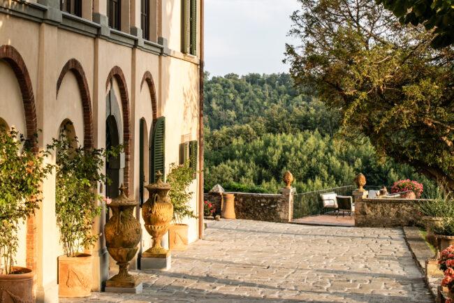 Wine resort for a wedding in Chianti