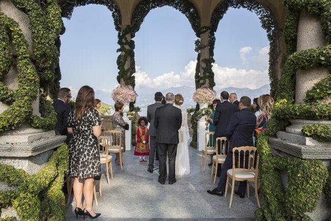 Romantic outdoor Villa del Balbianello