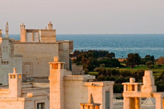 Borgo Egnazia sea view wedding