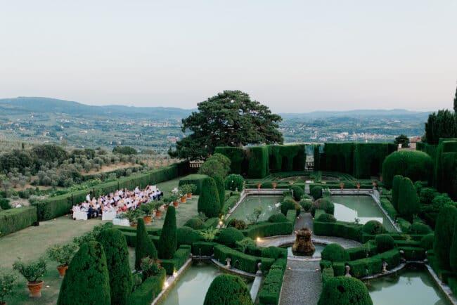 florence wedding villas italian garden