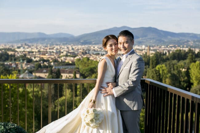 intimate romantic wedding Italy