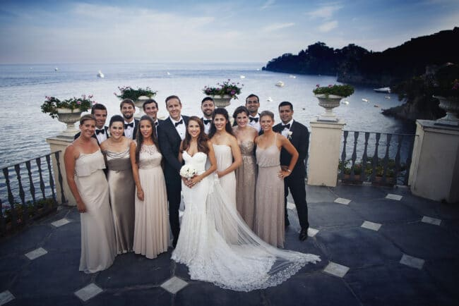Italian Riviera wedding organized by our talented planners